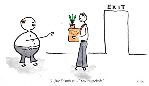 Unfair Dismissal - You're sacked!