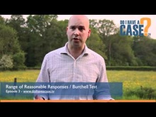 Tom talks about gross misconduct and the Burchell Test / Range...